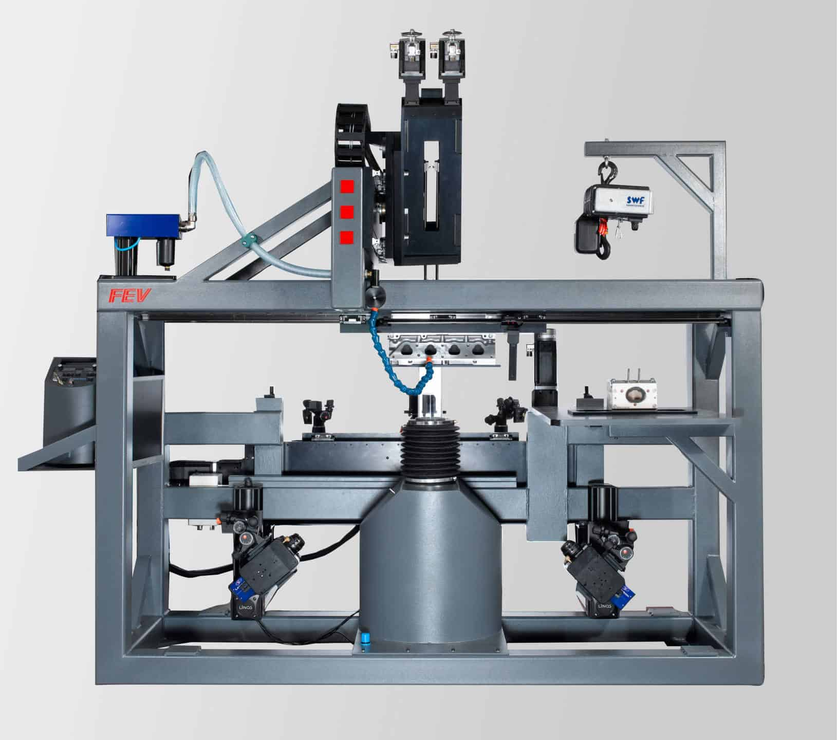 FEV Special Test Benches for Flow, Injection and Turbo