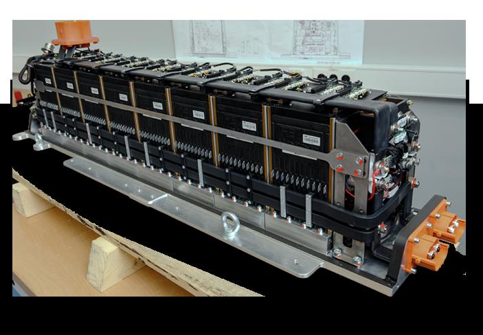 Liquidcooled High Performance Battery