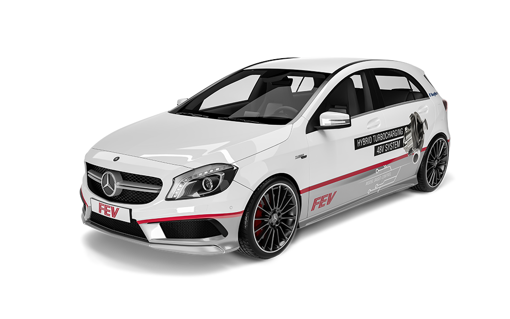 Antriebe - 48V Turbo Charged Mercedes A45 AMG