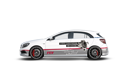 Antriebe - 48V Mercedes A45 AMG