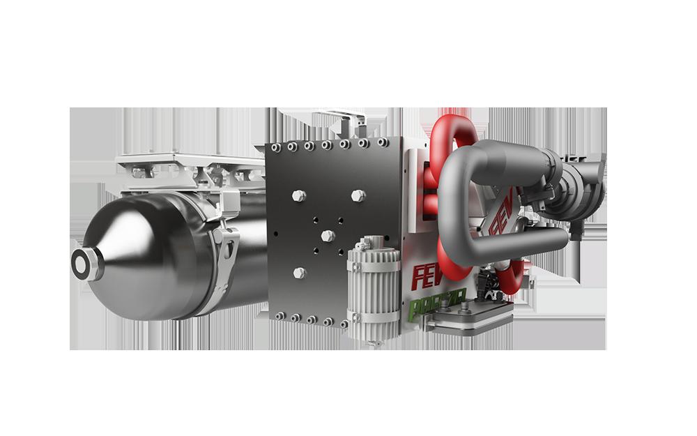 Antriebe - FEV Breeze Brennstoffzelle Details