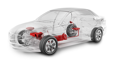 Alternative Powertrains - Hybrid (Motor, Battery, Transparent Car)
