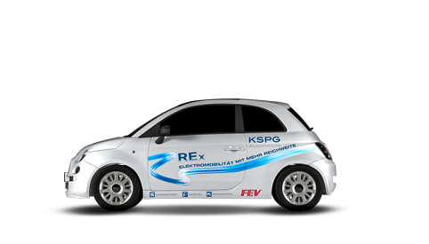 Alternative Powertrains - Range Extender (Fiat 500)