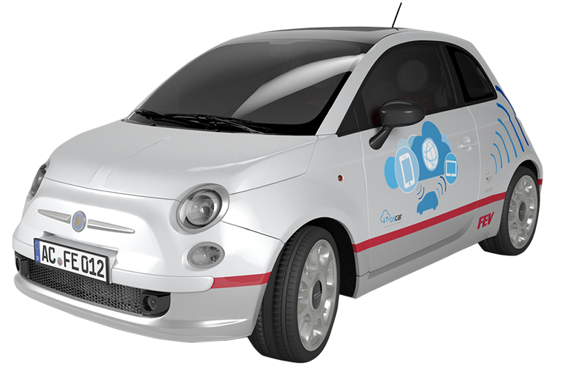 FEV Projekt OSCAR - Open Service Cloud for the Smart Car