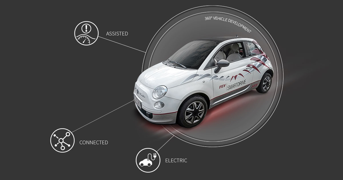 Fev Smart Vehicle Developing Future Mobility